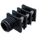 Neutrik NRJ6HF 1/4 Inch Stereo Jack. Switched. Fully Threaded Nose
