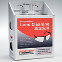 Lens Cleaning Station with 16 Ounce Spray & 1200 8inx4in Wipes