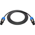 Sescom NSP4-30 Neutrik 4-Pole Speakon to 4-Pole Speakon Speaker Cable - 30 Foot