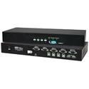 NTI UNIMUX-USBV-4O-A 4 Port USB KVM Switch