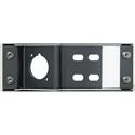 Neutrik NZPFD-4ST Blank Panel Plate for opticalCON & Four ST Connectors