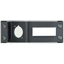 Neutrik NZPFD Panel Frame Plate opticalCON for D-shape Housings