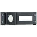 Neutrik NZPFD Panel Frame Plate opticalCON for D-shape Housings