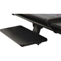 OmniRax Computer Keyboard/Mouse Shelf for Omni Desk - Black