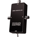 Ocean Matrix Composite Video BNC Input Expander Switch