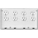 Open House Outlet mounts for grid enclosures - 8 outlets