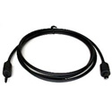 Digital Optical Mini Plug to Toslink Male Cable 6 Foot