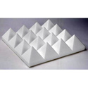 White Sonex Pyramids 24 x 24 x 2 Inch Thick Box of 14