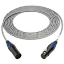 TecNec Plenum 5-Pin XLR Male to 5-Pin XLR Female DMX Lighting Control Cables