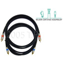 Plenum RCA to RCA Video Cable 25ft.