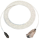 Plenum Visca Camera Control Cable 9-Pin D-Sub Female to 8-Pin DIN Male 25 Foot