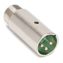 Switchcraft P3M Male XLR Gooseneck Connector