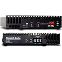 Stewart Audio PA-50B 2-Channel Half Rack Amplifier - 25W x 2 at 8 Ohm