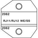 Greenlee PA2062 Die Set for RJ11 and RJ12 modular plugs