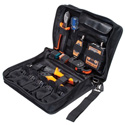 Greenlee 901083 Complete HDTV Broadcast Ready Coaxial Crimping / Cutting / Stripping / Testing Tool Kit