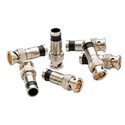 Greenlee PA9740 SealTite BNC Compression Connectors for RG6 & RG6 Quad Coax - 50