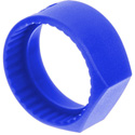 Neutrik PCR-6 Colored Ring with Flat Label Surface for C-Series - Blue