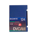 Sony Large Metal DVCAM Tape with Chip 124 Minute