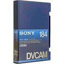 Sony Large Metal DVCAM Tape with Chip 184 Minute