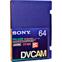 Sony Large Metal DVCAM Tape with Chip 64 Minute