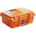 Pelican 1400NF Case No Foam Orange