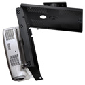 Peerless PSM-UNV Key-Locking Universal Projector Security Mount- Black