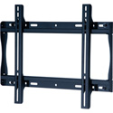 Peerless SF640 Universal Flat Wall Mount for 32-50 in. Displays - Security Model - Black