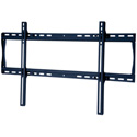 Peerless SF660 Universal Flat Wall Mount for 39-80 in. Displays - Security Model - Black