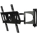 Peerless SUA746PU Ultra Slim Articulating Wall Arm for 32 to 46 Inch Displays