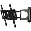 Peerless-AV SUA746PU Ultra Slim Articulating Wall Arm for 32 to 46 Inch Displays