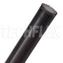 3/32in-1/4in Expandable Tubing Black 100 Foot Roll