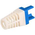 Platinum Tools 100030B-C Strain Relief for EZ-RJ45 Cat 6 Connector (50pc Blue)