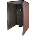 Dual 42D x 84W x 78H Inch Sound & Voice Over Booth
