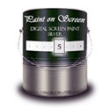 Paint On Screen - Exterior S1 Silver Screen - 1 Gallon