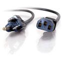 8ft 16 AWG Universal Power Cord (IEC320C13 to NEMA 5-15P)