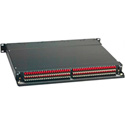 ADC-Commscope PPA1-14MKIINO ProPatch QCPII 1RU 2x24 Longframe Audio Patchbay Normals Out