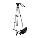 Prompter People TRI-HD Tripod and Head - Supports up to 30 lbs