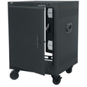 Middle Atlantic PTRK Series Cabinet Racks with Casters & Side Handles