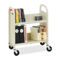 Bretford Slant Shelf Booktruck 28W x 13D x 24-1/2H