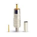 Canare RCAP-C53 RCA Crimp Plug fits Belden 1694A or 9116 or 9066