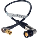Laird Red One Video 3G SDI DIN RA 1.0/2.3 to BNC RA Adapter Cable Black - 1 Foot