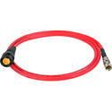 Laird RD1-DINB-3RD 3G-SDI DIN 1.0/2.3 to BNC Male Video Adapter Cable - 3 Foot - Red