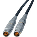 Red One 12V DC Power Cable - Lemo 2B 6-Pin Male to 2B 6-Pin Male - 1 Foot