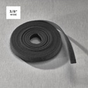 Rip-Tie W-60-PSP-BK WrapStrap - 3/8in - 200 Yard - Black