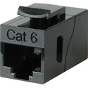 TecNec CAT-6 RJ45 8 Conductor Modular Female-Female Feedthru Coupler