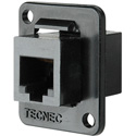 TecNec RJ11 Female-Female Feedthru D Series Panel Mount Connector