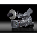 Rotolight 48 LED Shotgun Mic Mounted Light w/Filters For Camcorders
