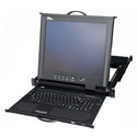 Middle Atlantic RM-KB-LCD17 Rack Mount Keyboard with 17 Inch LCD