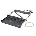 Middle-Atlantic RM-KB Slide-Out Keyboard Rackmount with USB Keyboard