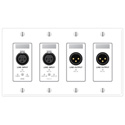 Rane RAD15 Remote Audio Device - 2 XLR Line In 2 XLR Line Out - Black